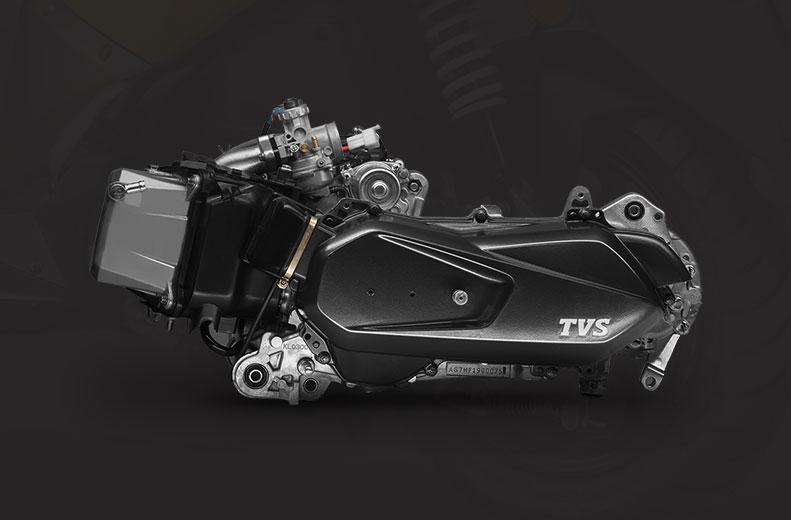Motor 125 cc 3-válvulas cvti-rev