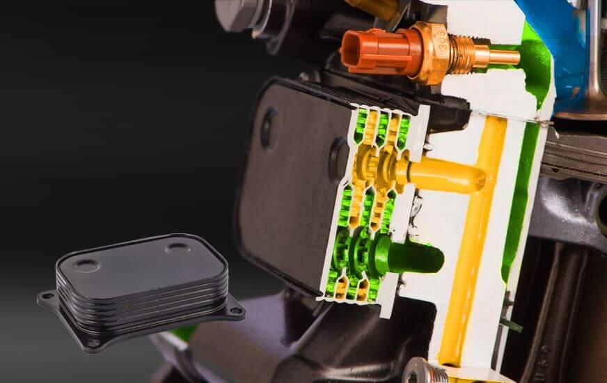 Tecnología de refrigerante de aceite enfriado por líquido